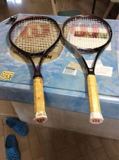 2 nos. Wilson tennis rackets
