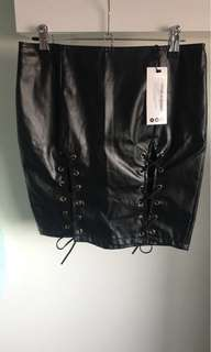 Ladies BooHoo night skirt with laces