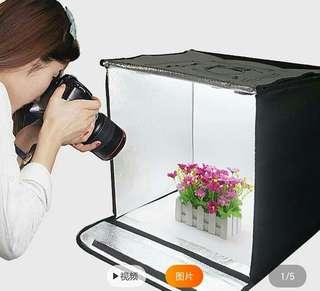 Item#1 LED Studio Lighting Box 40cm×40cm×40cm
