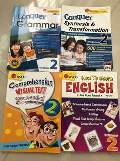 Primary 3 EL Assessment Books (lightly used)