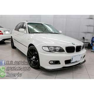 2002 BMW - E46 320I   2.2  免頭期 / 免保人 / 找錢5-10萬  歡迎來電諮詢