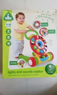ELC lights and sounds walker