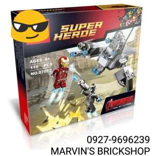 Iron Man Vs. Ultron Building Block Toy