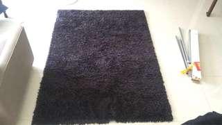 Black Ikea Carpet