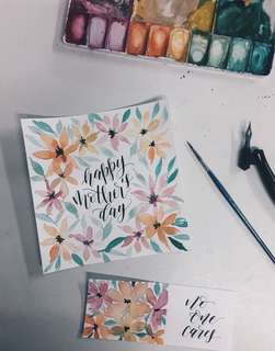 Calligraphy | Floral