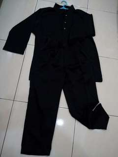 Baju Melayu Hitam