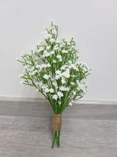 Artifical Baby Breath Bouquet