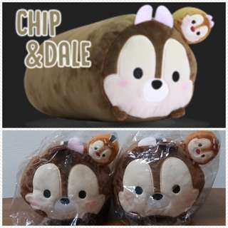 Two Disney Tsum Tsum Cushion (Chip & Dale)