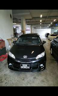 Toyota wish for u/g