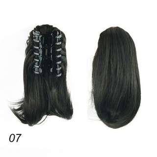 Hair clip blow