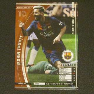 16/17 Panini WCCF Refractor Card World-Class SS - Lionel MESSI #Barcelona