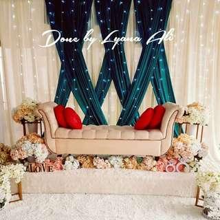Wedding Decoration / Dais / Pelamin / Decor