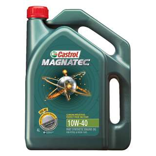 Castrol Magnatec 10W40 SN/CF Semi Synthetic Engine Oil 4L