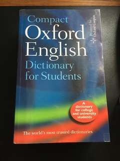 Compact Oxford English Dictionary for student
