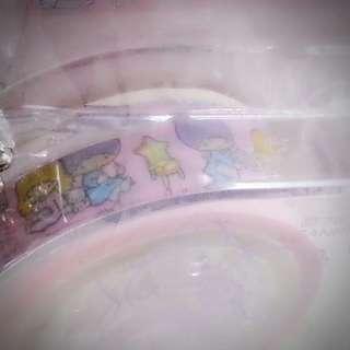 Little Twin Stars 膠紙 連 膠紙座 迷你膠紙座 匙扣   Sanrio Product 日本空運 日本版 珍藏 紀念 小禮物(雙星仙子,KiKi&LaLa)(リトルツインスターズ) 387146