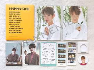 WANNA ONE MEMBERSHIP PHOTOCARD SET