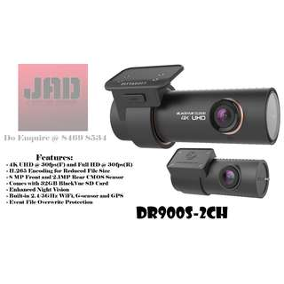 BlackVue DR900S-2CH *4K UHD Front Camera*