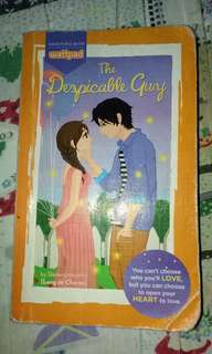 Despicable guy wattpad book