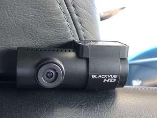 BlackVue 650 rear cam.