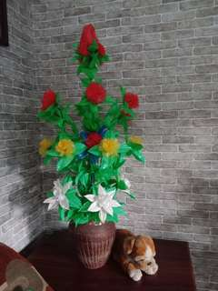 Bunga Plastik Handmade