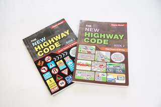 Driving theory book (Book 1 + Book 2)