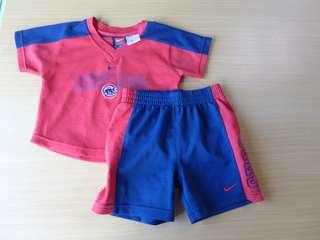 Chicago pair shirt and shorts