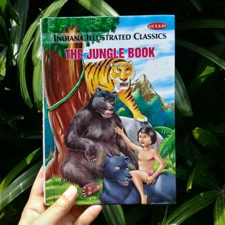 The Jungle Book by Rudyard Kipling (HARDBOUND)