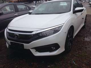 Honda civic 2018 ctos ptptn low income