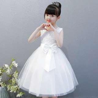 3 Color summer flower girl dress 👗 birthday 🎂 party 🎈 dress