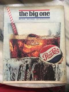 Vintage Pepsi Magazine Ad