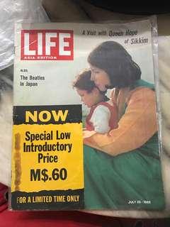 Vintage Life Magazine 1966 - The Beatles