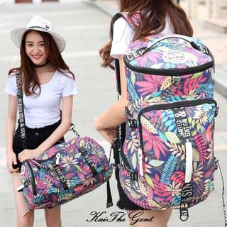 INSTOCK Ladies Travel Duffel Backpack