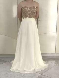 Baju Pesta/Long Dress/White Dress