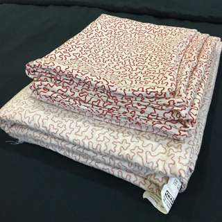 Preloved ikea quilt cover with pillowcases