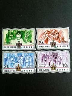 1977 Bahamas silver jubilee set