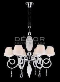 Montecristo 6-light chandelier