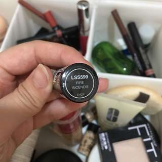 NYX Lipstick LSS599 (Fire Incendie)