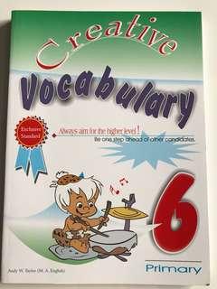 Primary 6 Vocabulary