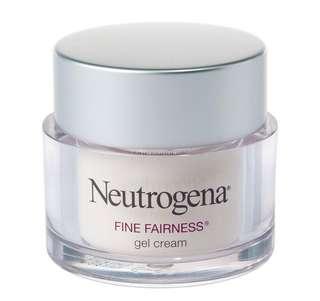 Neutrogena fine fairness gel cream 50g (market price $28.9)