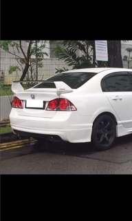 Civic fd bumper
