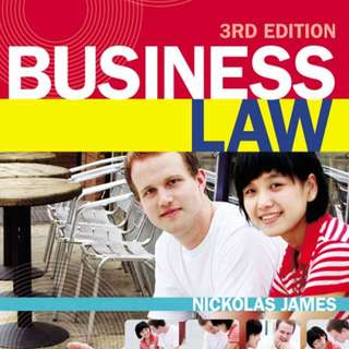 RMIT LAW2446 Commercial Law Textbook 3rd Edition