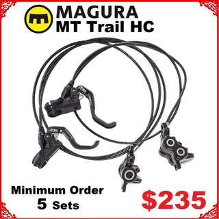 Magura MT Trail Sport HC Disc Brake wholesale Minimum Order 5 Sets -------  (Magura MT2 MT4 MT5 MT5e MT6 MT7 MT8 M9020 M8020 M8000 M785 M7000 M315 ) DYU