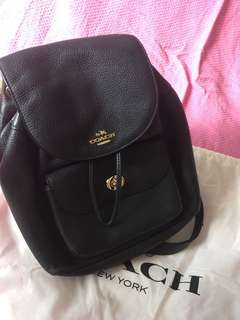 Authentic Coach Backpack with Dustbag