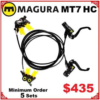 Magura MT7 HC 2018 Disc Brake wholesale Minimum Order 5 Sets--------  (Magura MT2 MT4 MT5 MT5e MT6 MT7 MT8 M9020 M8020 M8000 M785 M7000 M315 ) DYU