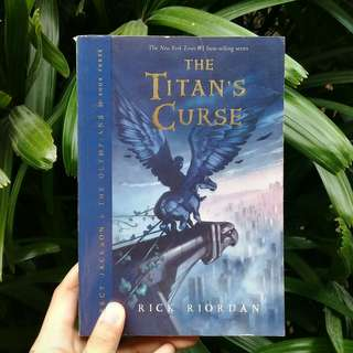 Percy Jackson & The Titan's Curse by Rick Riordan