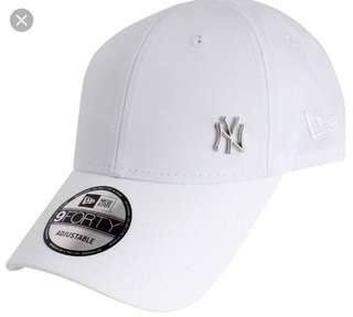 New Era 9Forty Flawless Adjustable Cap white