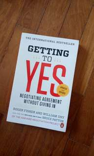 Getting to YES (negotiation)