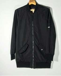Hollister Long Bomber Jacket