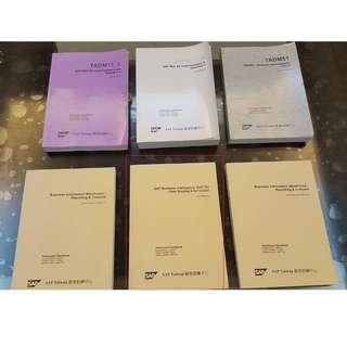SAP 教育訓練書籍