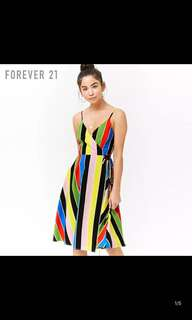 Brand new forever21 stripes dress